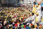 <B>Storm force</B> Manpreet at one of the rallies preceding the launch of his new party