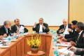 Pawar and others in an ICC meeting in New Delhi