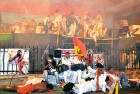 <b>Thrown Out</b> The melee at Ramlila grounds on June 4