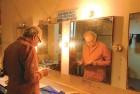Soumitra Chatterjee rehearses at Sri Ram Centre, New Delhi