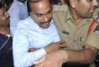 Janardhana Reddy on his way to the Chanchalguda jail in Hyderabad, Sept 5