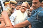 <b>Quick fix?</B> Amar Singh after his arrest