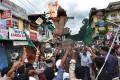 <b>Road show</b> An anti-dam protest in Kochi