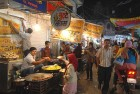 The iconic Sarafa bazaar in Indore is pure street theatre
