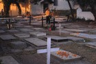 <b>Cramped for room</b> The graveyard at St Andrew's Church in Bandra