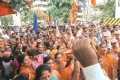 <b>Self-help</b> A rally for the BMC polls in Lalbaug, Mumbai