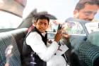 <b>Tutored play</b> Akhilesh after taking office as CM