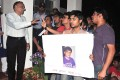 <b>Not so equal?</b> Students protest outside the AIIMS director's residence after Anil Kumar Meena's suicide, Mar 4, 2012