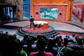 <b>Taking stage</b> Aamir on the sets of Satyamev Jayate