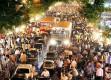 <b>Madding crowd</b> Population swell has clogged Mumbai's streets