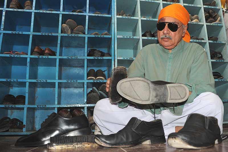 A Pathan At The Gurudwara