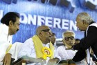 <b>My cause</b> Karunanidhi at the TESO meet