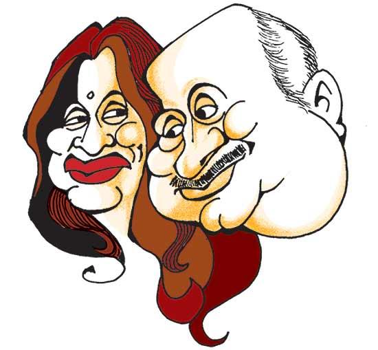 Anupam And Kiron Kher