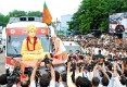 Modi takes the help of the other Narendra as he kicks off a month-long Vivekananda yatra, in Becharaji town off Ahmedabad, Sept 11