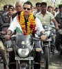 <b>Riding trouble</b> Robert Vadra campaigning for the Congress in UP