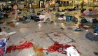 <b>Carnage at CST</b> Kasab ran riot here on 26/11