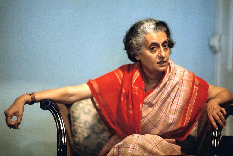 was indira gandhi a good leader