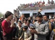 <b>It is she?</b> Priyanka at a UP election rally
