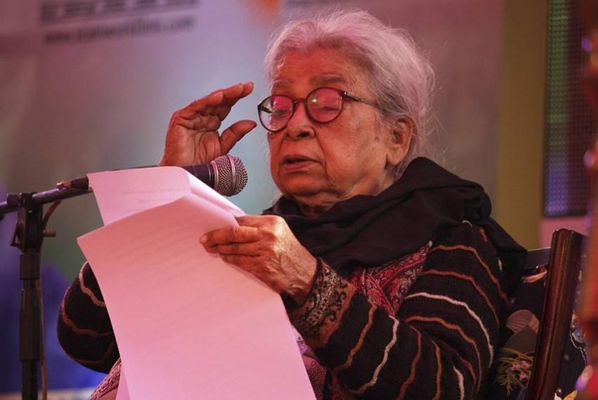 Mahasweta Devi, A Reporter Remembers