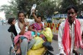 <b>Lucknow</b> In a daze, a poor couple bring their sick child to a government hospital, holding up a drip bottle. For many like them, private hospitals are out of reach. Care at government hospitals is poor.