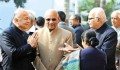 Home minister S.K. Shinde and L.K. Advani at a function in memory of Parliament attack victims, Dec 13, 2012