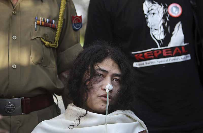 My Protest Has Fallen On Deaf Ears: Irom Sharmila