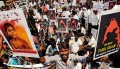 <b>Hearts hurt</b> A protest in Chennai against Sri Lankan atrocities