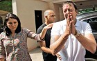 <b>Three years</b> Sanjay Dutt after the verdict
