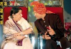 <b>Let him be</b> Lata with Sachin at a function to felicitate him