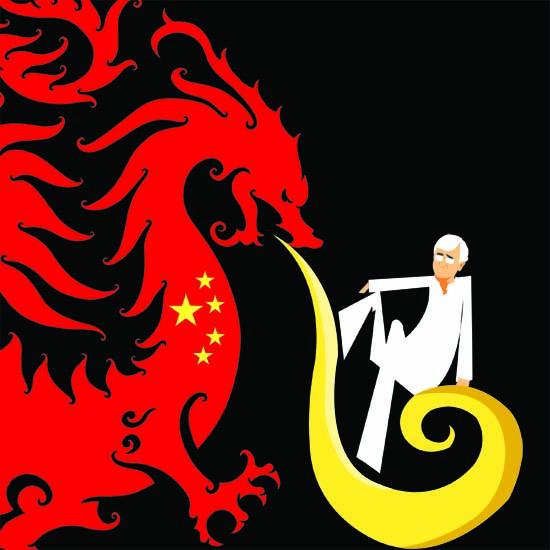 Grilled Salman, Peking Style