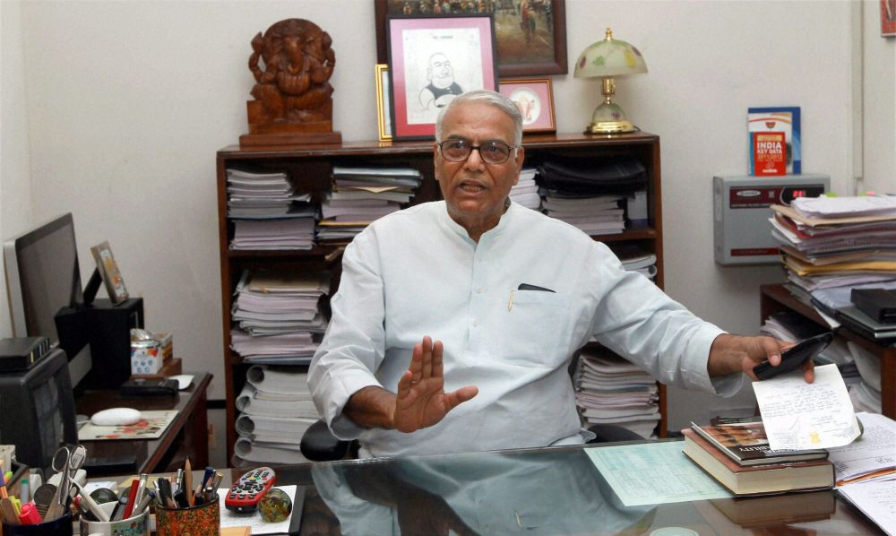Govt Should Clarify After US Criticism on Growth Data: Yashwant Sinha