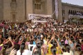 <b>Stating the problem</b> A Telangana protest at Osmania University