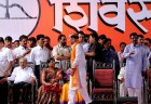 Manohar Joshi booed out of the Sena's rally, Mumbai, Oct 13