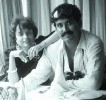 <b>A life cut short</b> A old photo of the writer with his wife
