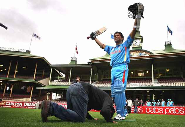 The World Is His Wankhede