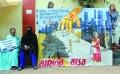 Women activists protest against 'Saheb' in Delhi