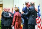 Iranian, Western leaders celebrate the interim deal in Geneva