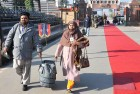 <b>The crossing</b> A Pak couple enters India