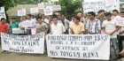 <b>Anti-throttle</b> A protest in Itanagar against the 2012 attack on journalist Tongam Rina