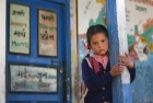 <b>To put a smile on her face</b> A schoolgirl at the Banjar block in Himachal Pradesh, a model state in government services