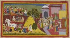 From the 17th century manuscript of the Mewar Ramayana, one of the most beautiful manuscripts of the world, recently reunited after being split between India and the UK for over 150 years.