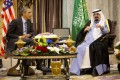 File Photo: Obama meets the Saudi King Abdullah in March