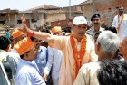 <b>Heat and dust</b> Jayant Sinha on the campaign trail in Hazaribagh