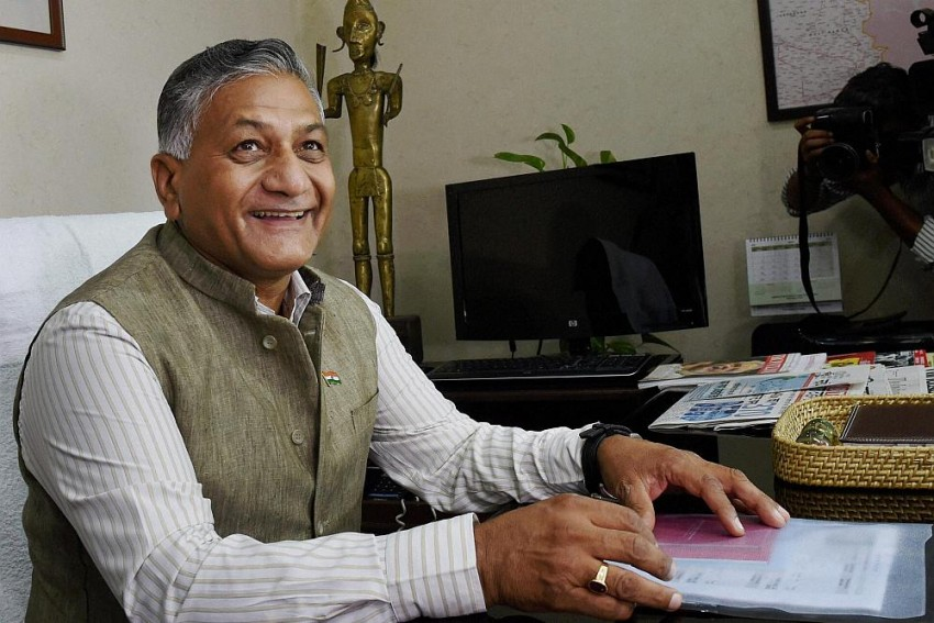 Behind VK Singh's Fascination For Roads