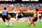 <B>Club Show</b> East Bengal plays Mohun Bagan at Eden Gardens, Calcutta