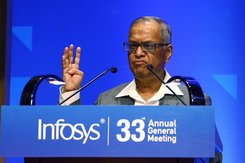 Narayan Murthy Slams Infosys For Raising COO Pravin Rao's Pay