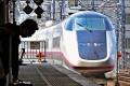 <b>Role Model</b> A bullet train at Sendai station in Japan