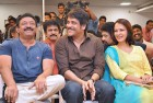 <b>Break it up</b> RGV, Nagarjuna and Amala at the 25 years celebration of Shiva in Hyderabad