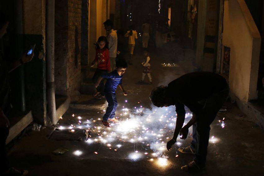 Diwali And The Boy In The Balcony