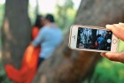 <b>The camera isn't shy</b> The cellphone is a tool both for privacy and its intrusion